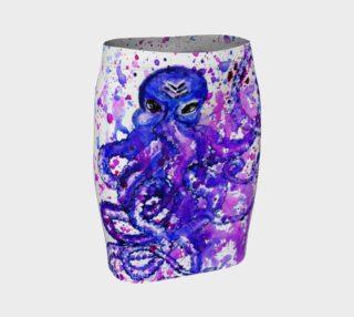 Violet octopus preview