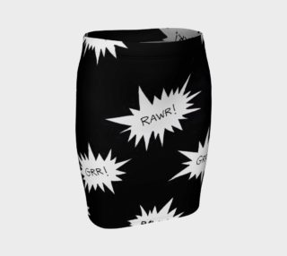 Rawring Skirt (Fitted) preview