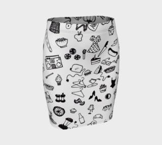 Odds and Ends Skirt (Fitted) preview