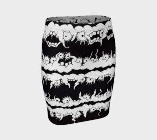 Monster-ette Skirt (Fitted) preview