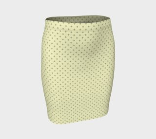 GREY & LINEN DARK SIGNATURE FITTED SKIRT preview