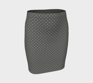 GREY & LINEN LIGHT SIGNATURE FITTED SKIRT preview