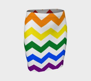 Rainbow Chevron Pattern Design Rainbow Colors Chevron Simple preview