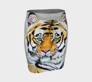 """""""Top Cat"""" Tiger - Fitted Skirt preview"""