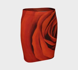 """""""Seeing Red"""" Fitted Skirt preview"""