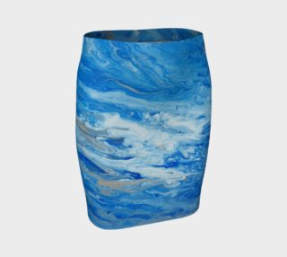 Sea Foam Fitted Skirt preview