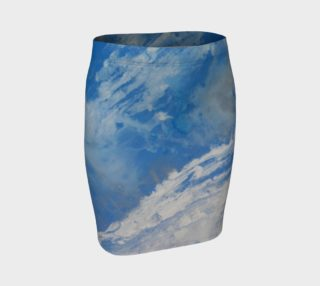 Whitecaps Fitted Skirt preview