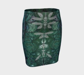 Meta Cicada Fitted Skirt preview