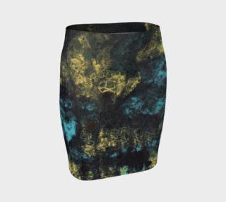 Yellow and Blue Splash skirt preview