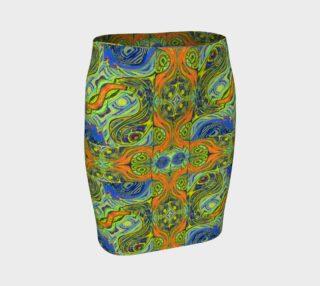 Channeling Vincent / Virtual Vincent™ Vase-Look Super Fitted Skirt preview