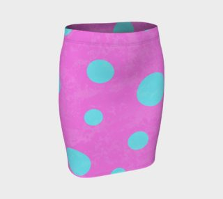 Pink and Aqua Dots Pattern preview