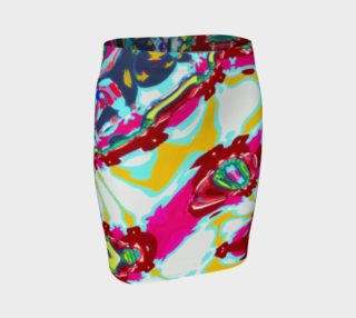 City Girl Yoga / Candy Swag Fitted Skirt preview