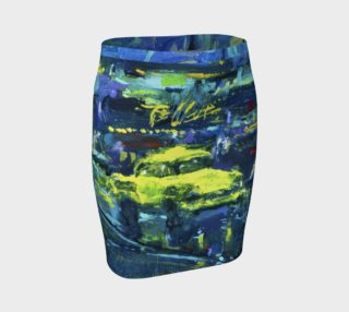 Lady Nighthawk Big Yellow Taxi Skirt preview