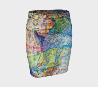 "Aperçu de ""Intuition"" fitted skirt"