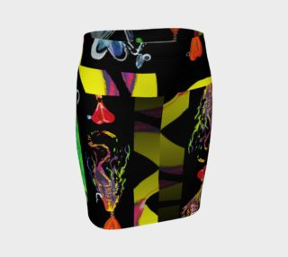 Aperçu de The New a-Lure-ing You 3-d Optical-Print Super Skirt (Instant Convo Starter!)