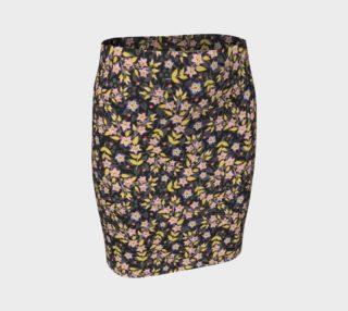 Aperçu de Rosy Garland Tube Skirt