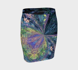 Tuscany Harvest Floral Fitted Skirt preview