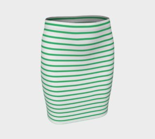 Stripes - Green on White preview