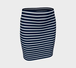 Stripes - White on Navy preview