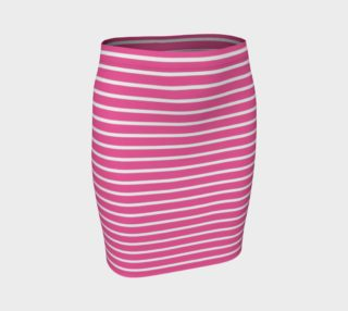 Stripes - White on Pink preview