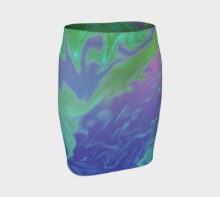Blue Green Splatter Abstract preview