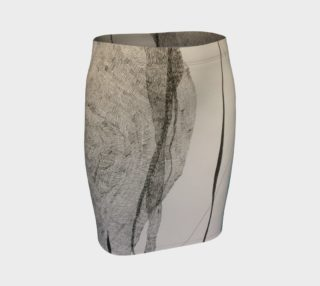 ocean current pencil skirt preview