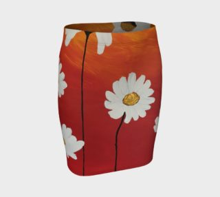 Daisy Sunset Fitted Skirt preview