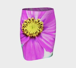 pink flower skirt preview