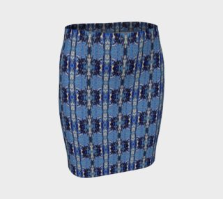 Innocence Blue Fitted Skirt preview