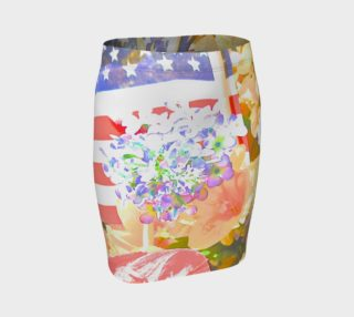 Memorial day Flag and floral  2 preview