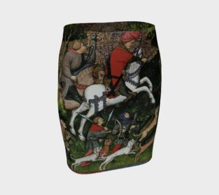 Medieval Hunt - Fitted Skirt preview
