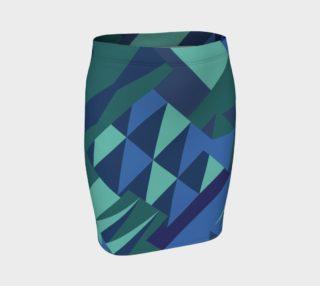 Erie Aqua Skirt preview