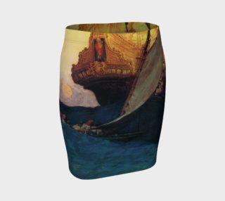 Aperçu de Pyle Ship - Fitted Skirt