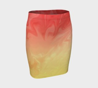 Ombre Orange Yellow Pattern  preview