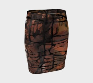 Journal Fitted Skirt preview