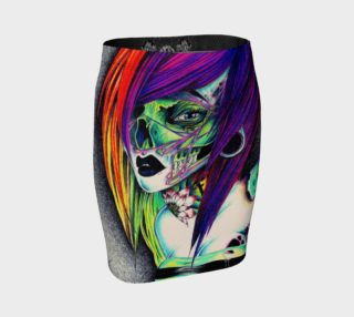 """Zombie Girl"" Pencil Skirt preview"