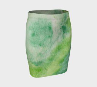 Fleur Verte Fitted Skirt preview