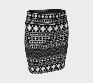 Ladies Fair Isle Fitted Skirt preview