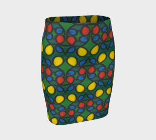 Belle Isle Mosaic II Fitted Skirt preview