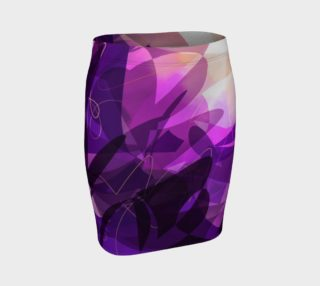 Florida Sunset Fitted Skirt preview