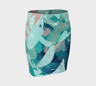 Tealinit Fitted Skirt preview