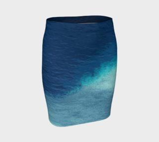 Aperçu de Blue Tropical Ocean White Lagoon