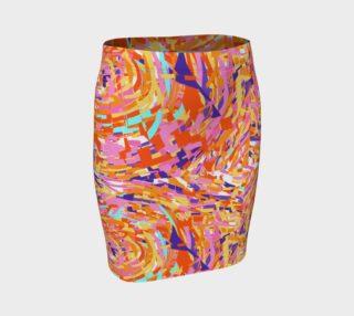 Aperçu de Color Shatter Skirt by KCS