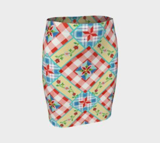 Homespun Gingham Skirt by Patricia Shea Designs preview
