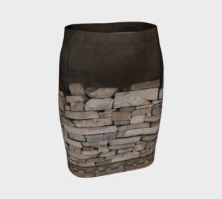 Aperçu de Textural Antiquities Herculaneum Five Fitted Skirt