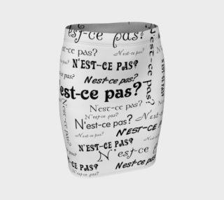 N'est-ce Pas Fitted Skirt preview