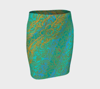 Scribe Fitted Skirt preview