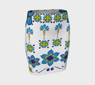 Talavera Fitted Skirt preview