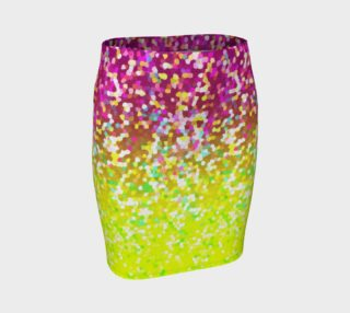 Skirt Glitter Graphic G13 preview