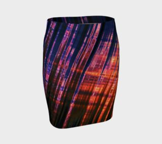 Grid Persuasion Fitted Skirt by Danita Lyn preview